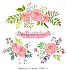 wedding flowers drawing watercolour flowers stock images royalty free images vectors