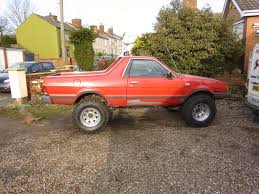 brat subaru lifted lifted road cars many many pics has it started retro rides