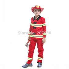vire costumes toddler firefighter boys party fireman fancy dress up