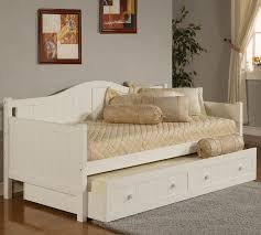 cheap white daybed with trundle twin trundle daybed bedroom full