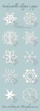 355 best snowflake crafts images on snow paper