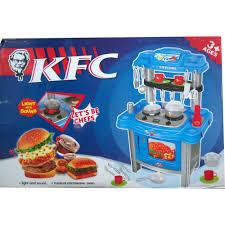 Toy Kitchen Set Food Kitchen Fast Food Playset Kfc 11street Malaysia Play Vehicles
