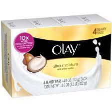 Sabun Olay olay bar soap ultra moisture shea butter 4 25 oz onlyonestopshop