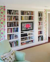 Diy Built In Bookshelves Plans Built In Bookshelf Plans Okcbuiltes Hack To Build Yourself Ideas