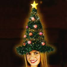 christmas tree hat light up christmas tree hat by world christmas novelty hats