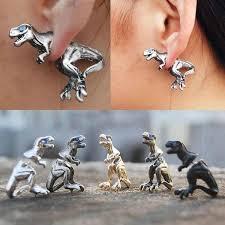 t rex earrings t rex earrings sugar cotton