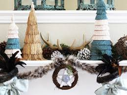 White Christmas Decorations For Mantel by 28 Christmas Mantel Decorating Ideas Hgtv