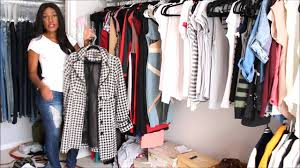 How To Purge Your Closet by How To Do A Closet Purge For Spring Cleaning Youtube