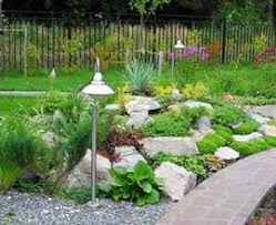 backyard rock garden ideas outdoor furniture design and ideas