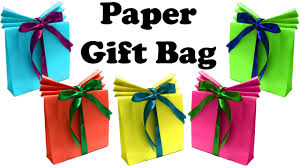 diy paper gift bags gift boxes christmas gift wrapping youtube