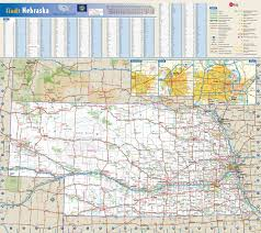 State Map Of The Usa by Large Detailed Roads And Highways Map Of Nebraska State With