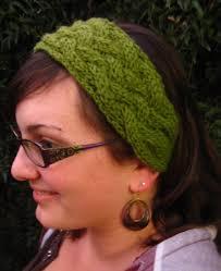 knitted headband pattern earwarmer headband knitting patterns in the loop knitting