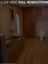 Bamboo Floor Bathroom Mesmerizing Bamboo Flooring In Bathroom Design And Home Office