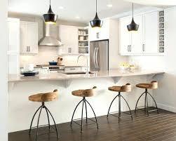 Designer Kitchen Stools Kitchen Barstools Modern Black And White Kitchen Metal And Wood