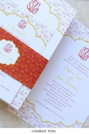 Ganesh Puja Invitation Card Ganesh Indian Wedding Invitation In Red And Gold Imbue You Are