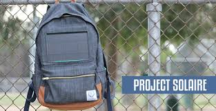 Rugged Backpacks Project Solaire Fundable Crowdfunding For Small Businesses