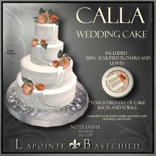 wedding cake delivery second marketplace sculpted cake calla 4 tier cake
