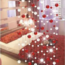 Curtains Wedding Decoration Aliexpress Com Buy 10 Indoor Decorative Crystal Glass Bead