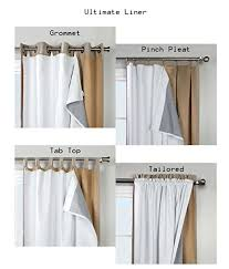 What Is A Cafe Curtain Rod Amazon Com Thermalogic Ultimate Window Liner 45