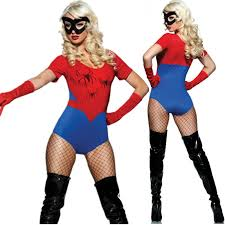 Superhero Halloween Costumes Girls Halloween Costume Women Spiderman Spider Costume