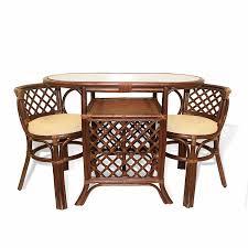 100 rattan dining room set viyet designer furniture tables