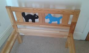 Child Bed Frame Ikea Kritter Child Bed Frame Mattress Free In Exeter