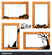 cute happy halloween sign halloween border with lines u2013 festival collections