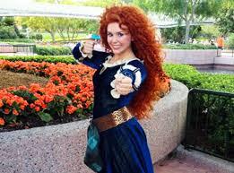 disney introduces princess merida pixar u0027s u201cbrave