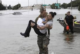 hurricane harvey causes houston flooding npr
