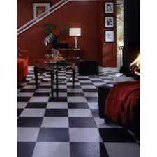 Black And White Laminate Flooring Black And White Chess Slate Laminate Flooring Betterimprovement