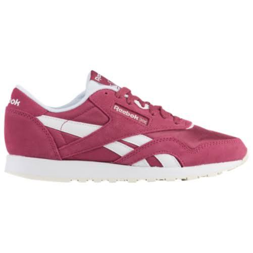 Reebok Classic Nylon Pink Fashion Sneaker
