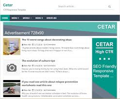 cetar high ctr responsive blogger template high ctr blogger template