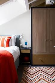 simple cupboard and white paint color for small bedroom ideas with