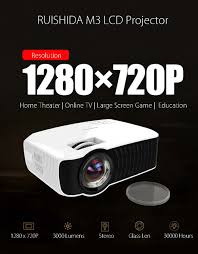 wireless home theater projector ruishida m3 lcd projector us plug 177 24 online shopping