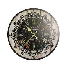 Wall Clocks Canada Home Decor by Online Buy Wholesale Painting Wall Clock From China Painting Wall