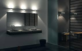 Bathroom Lighted Mirrors by Bathroom Modern Lighted Mirror Cabinet With Standalone Sink And