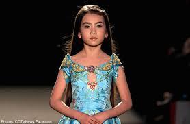 preteen girl modeling 9 year old girl models for paris fashion week asia women news