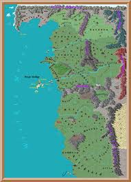 World Continent Map Is There A Complete Map Of The World Of The Witcher One That