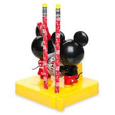 mickey and minnie mouse mxyz desk accessory set shopdisney