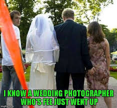 Wedding Day Meme - nothing like a little blackmail for a wedding present imgflip
