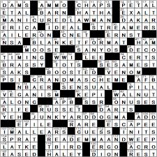 usa today crossword answers july 22 2015 sunday la times crossword answers lat crosswords