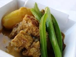 cuisiner le poivron vert curry de porc au poivron vert et pommes de terre recettes