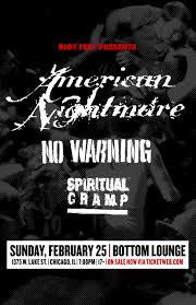 Black Flag American Waste Bottom Lounge