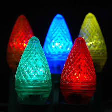 Colored Christmas Lights by Multi Assorted Led Christmas Lights Novelty Lights Inc