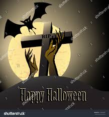 halloween zombie background zombie themed vector halloween illustration background stock
