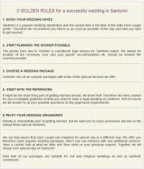 wedding planner packages 39 best santorini weddings info images on santorini