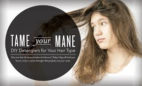 how to tame gray hair tame your mane diy hair detangler young living blog