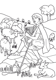 jesus the good shepherd coloring page the shepherd coloring page