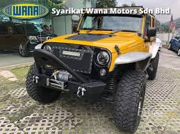 yellow jeep wrangler unlimited jeep wrangler 2014 unlimited sport 3 6 in kuala lumpur automatic suv
