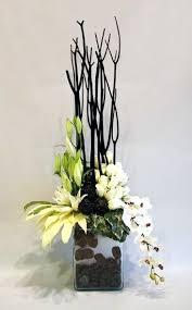 Orchid Flower Arrangements Contemporary Silk Flower Arrangements Uk Modern Silk Flower